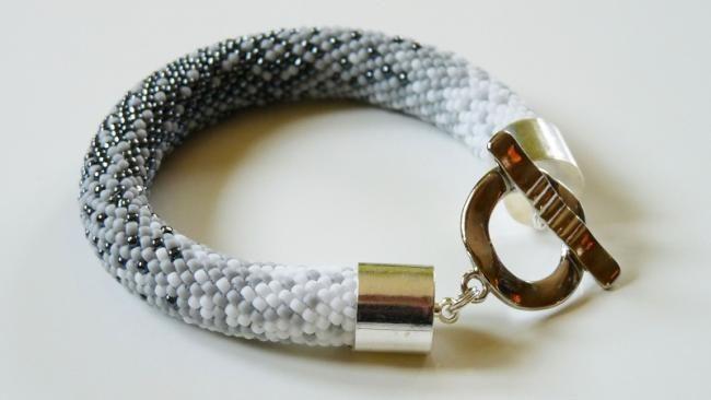 Bransoletka Recznie Pleciona Z Koralikow Toho Ombre Hematyt Arnikaart Jewelry Bracelets Rope Bracelet