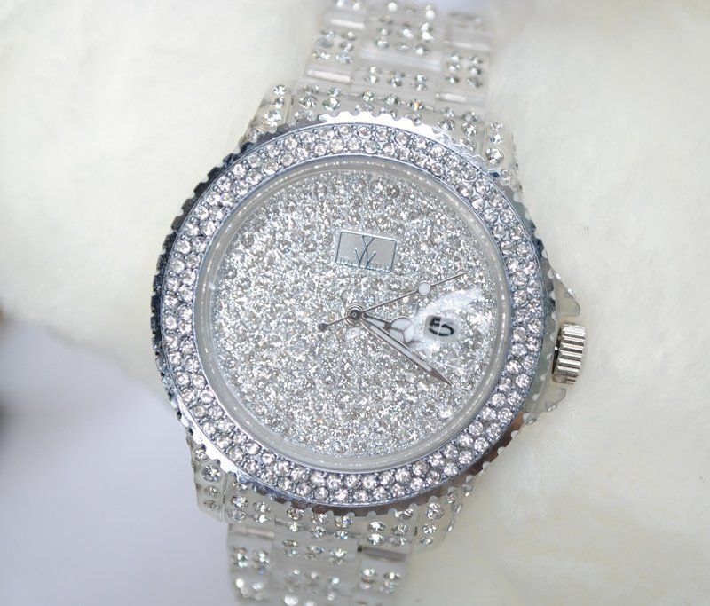 Rhinestone watches ladies 2012 new style fashion watch best selling popular diamond women watch for Woman diamond watches