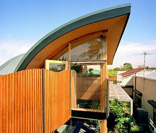 Green House In Melbourne By Zen Architects Green House Design Melbourne House Green Architect