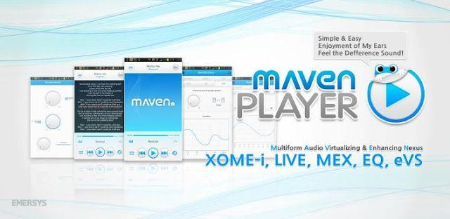 3D MAVEN Music Player Pro v1.12.55 APK Free Download