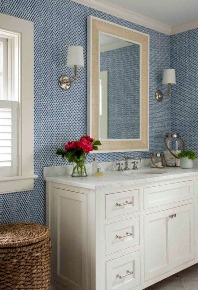 31 Amazing Small Bathroom Wallpaper | Small bathroom ...