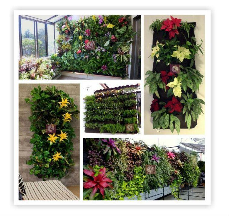 Jardineras verticales - ideas sencillas para colgar plantas - - jardineras modernas