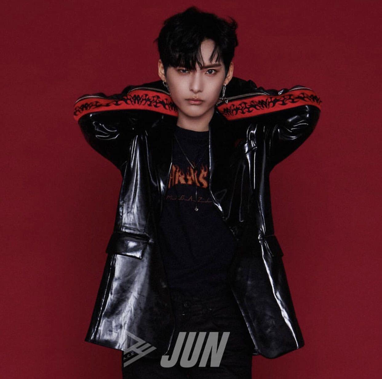 A.C.E Jun undercover concept photo 2 | Kpop guys, Ace, Fashion