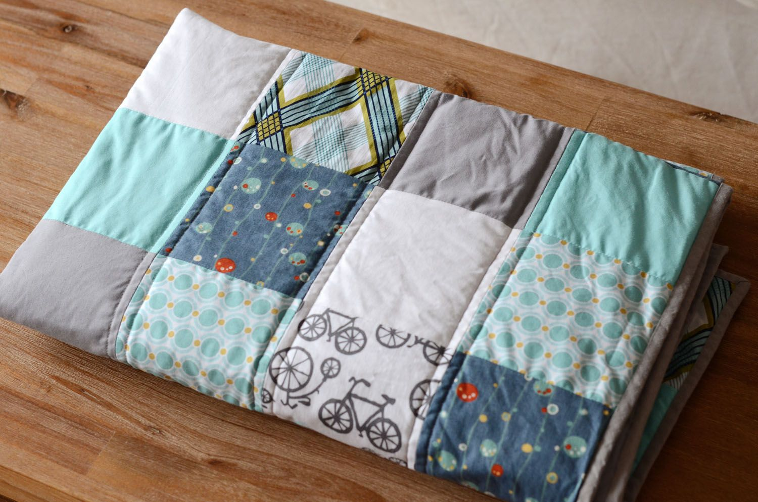 Do You Want To See The Process Of Making A Quilt Here Is A Step By