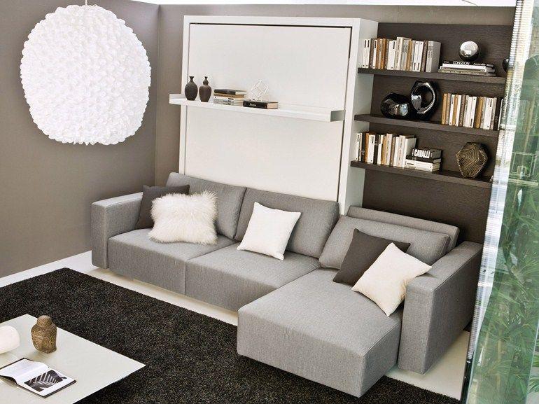 Pin de elisa souza em ideias para a casa mob lia com for Parete attrezzata con divano