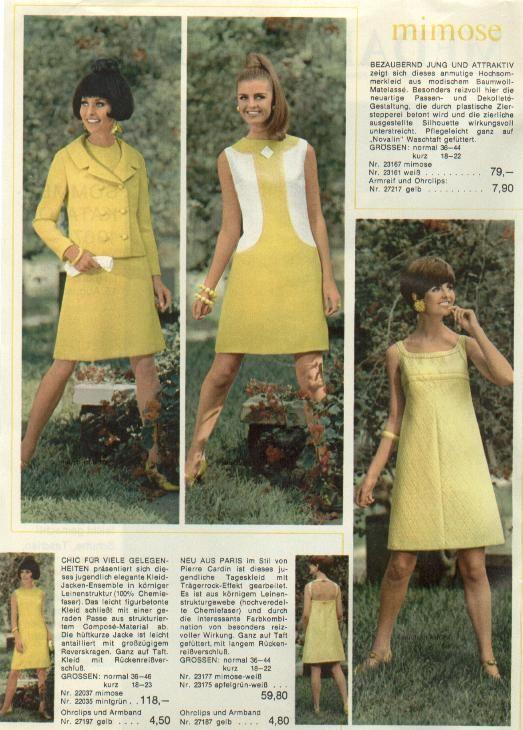Pin von gabi z. auf 60s | Pinterest | Revistas de moda, Moda und ...