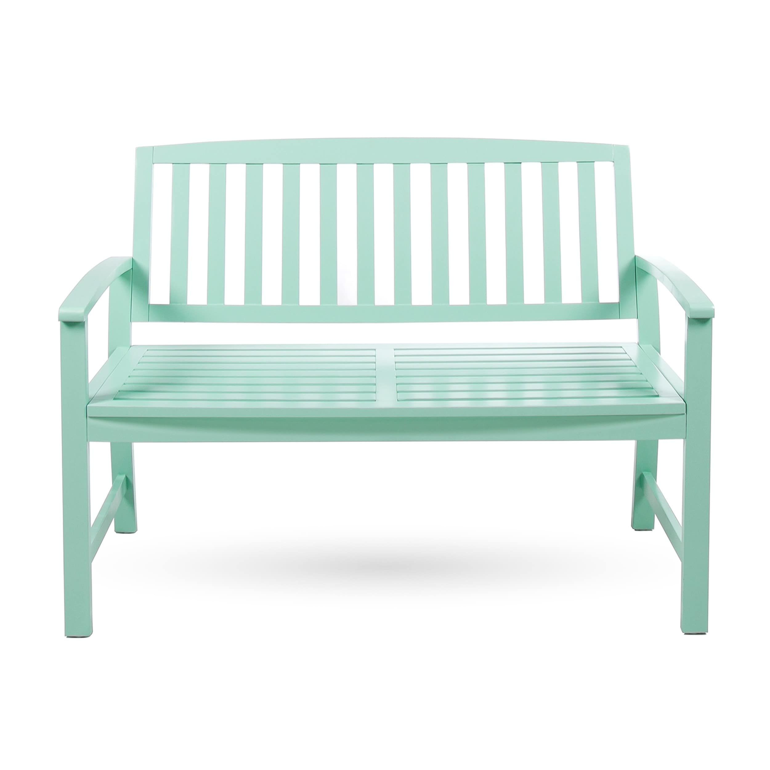 Loja Outdoor Acacia Wood Bench by Christopher Knight Home (Natural ...