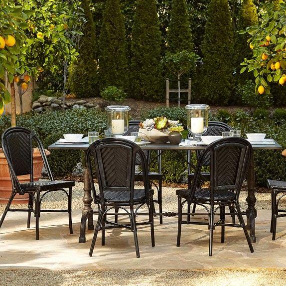 La Coupole Indoor Outdoor Rectangular Dining Table Pietra Cardoza