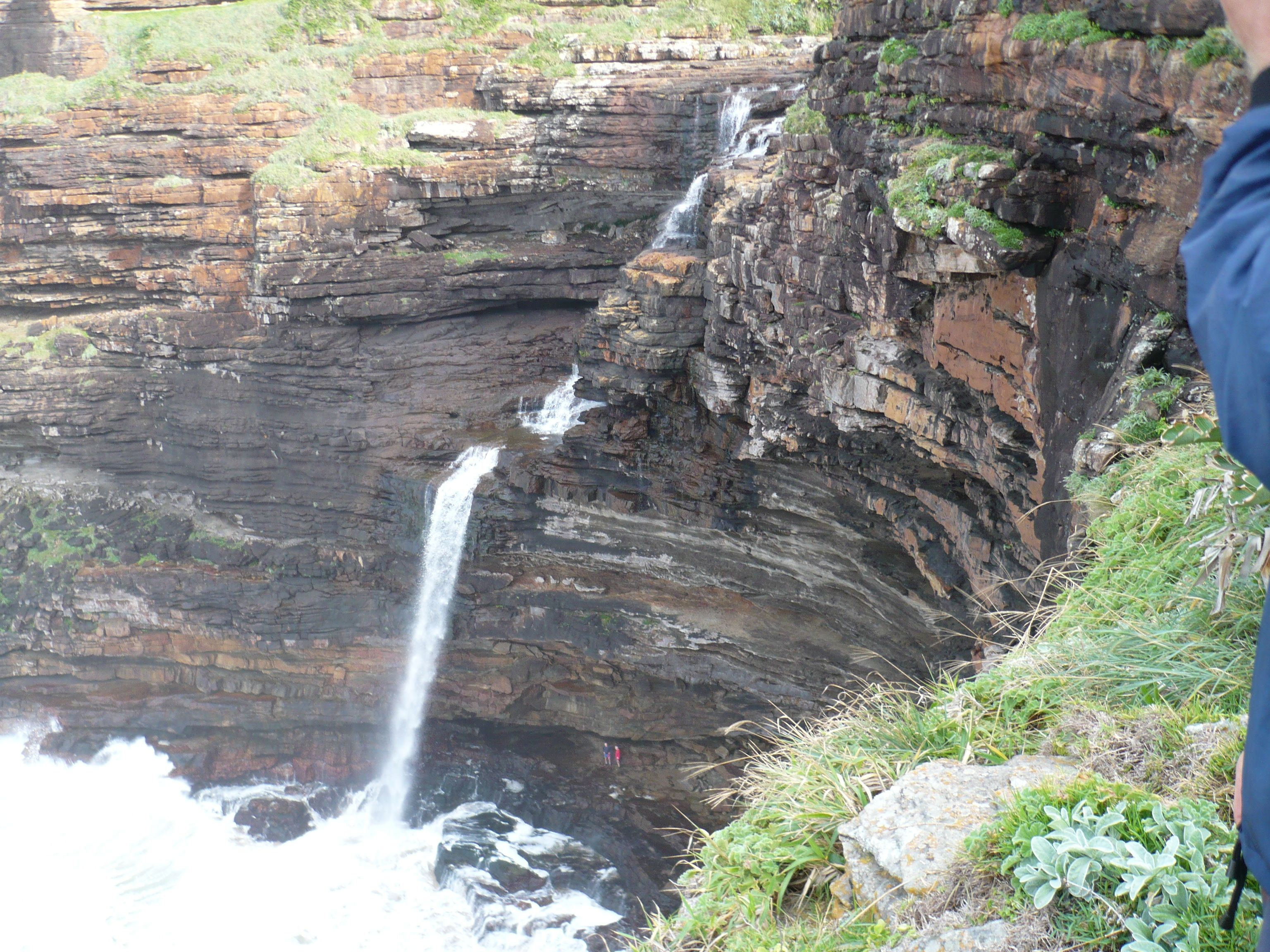 waterfall bluff transkei wild coast eastern cape south africa