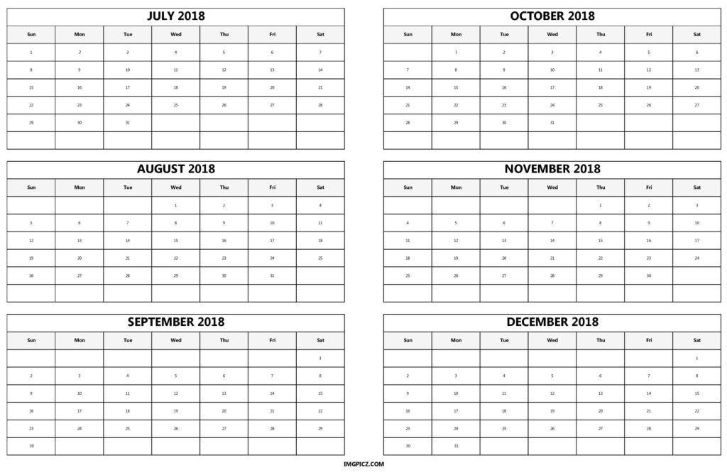 Month  Calendar Printable   Printable Calendars