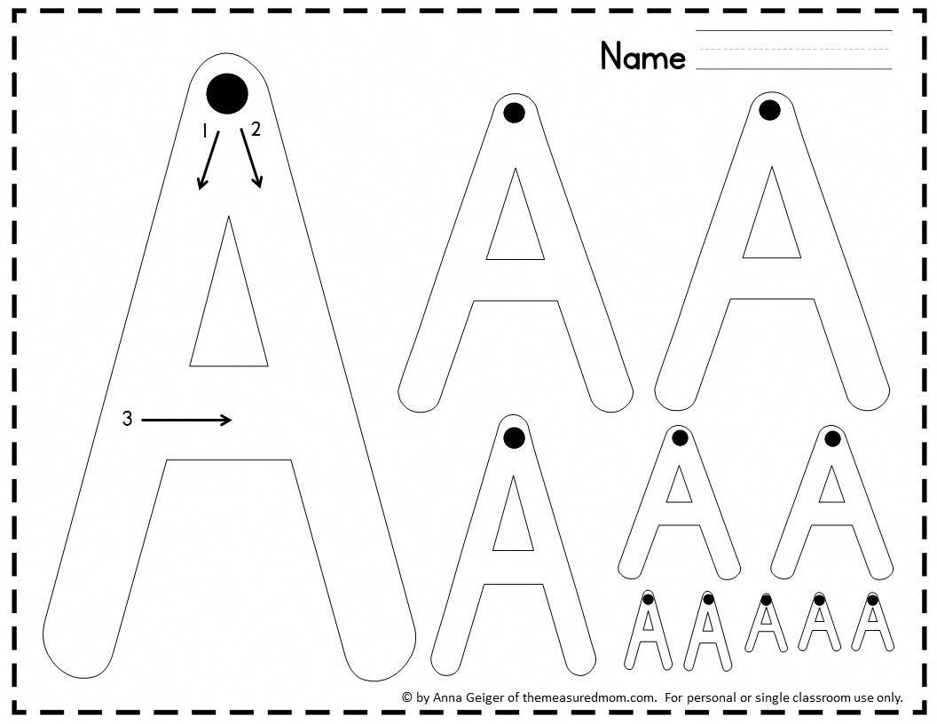 Find A Huge Variety Of Handwriting Worksheets In This