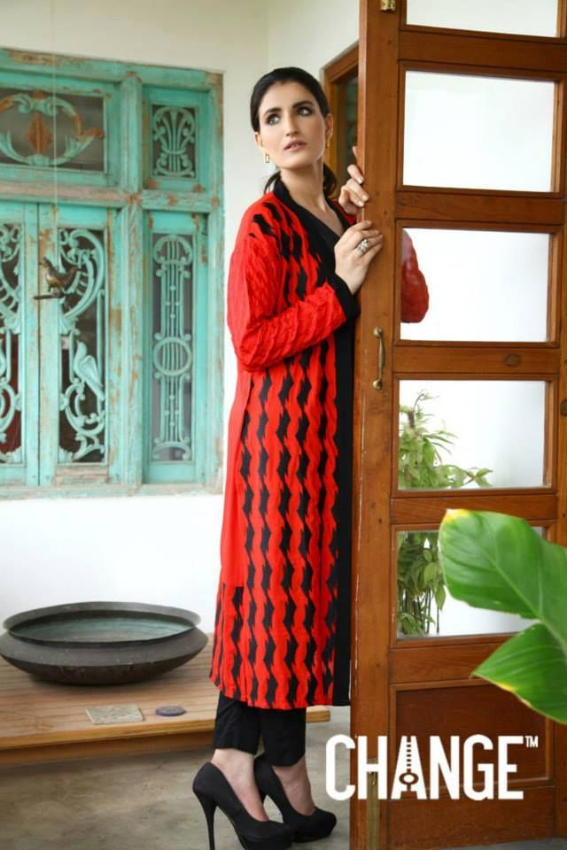 62f9861ace5e CHANGE Kurti Designs 2 Piece Suits Collection for Women 2015-2016 (24)