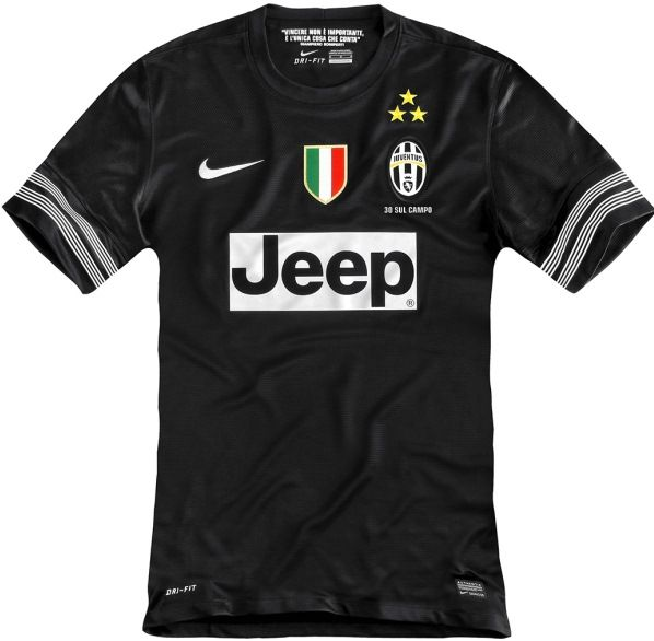 buy popular a3ad7 3436b New Juventus Away Kit 12-13- Nike Black Juventus Jersey 2012 ...
