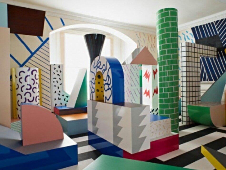 Arredamento Postmoderno ~ 35 best memphis images on pinterest memphis design post modern