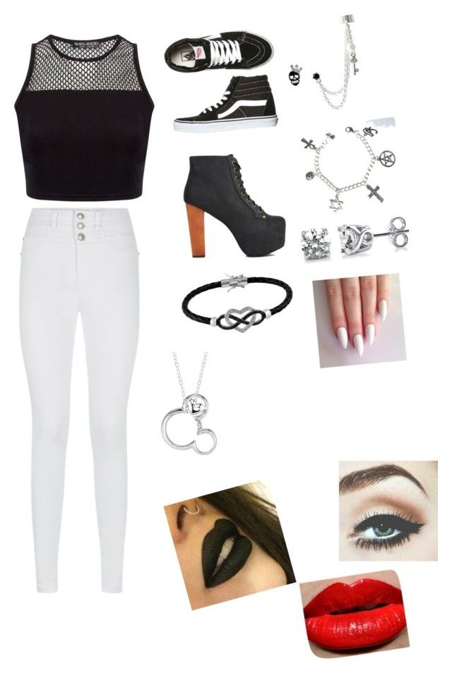 """""""Date at the pier ?✌?️❤️"""" by ohthatsjaeyaa ❤ liked on Polyvore featuring Vans, Jeffrey Campbell, Jewel Exclusive, Disney, Betsey Johnson and BERRICLE"""