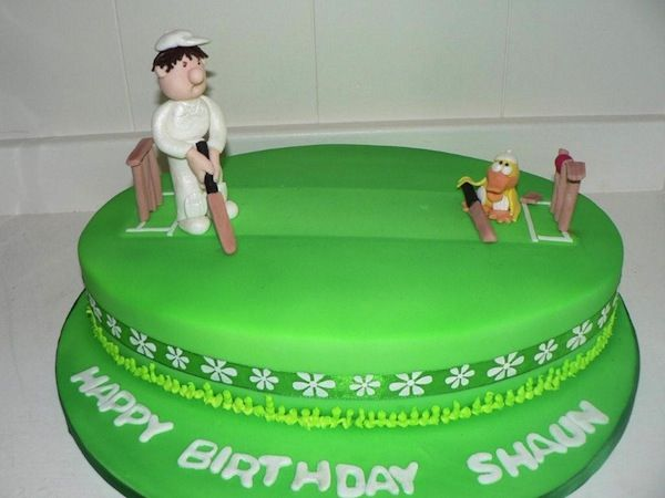 Cricket Birthday Cake Images : cricket-theme-birthday-cakes-cupcakes-4 Projects to Try ...