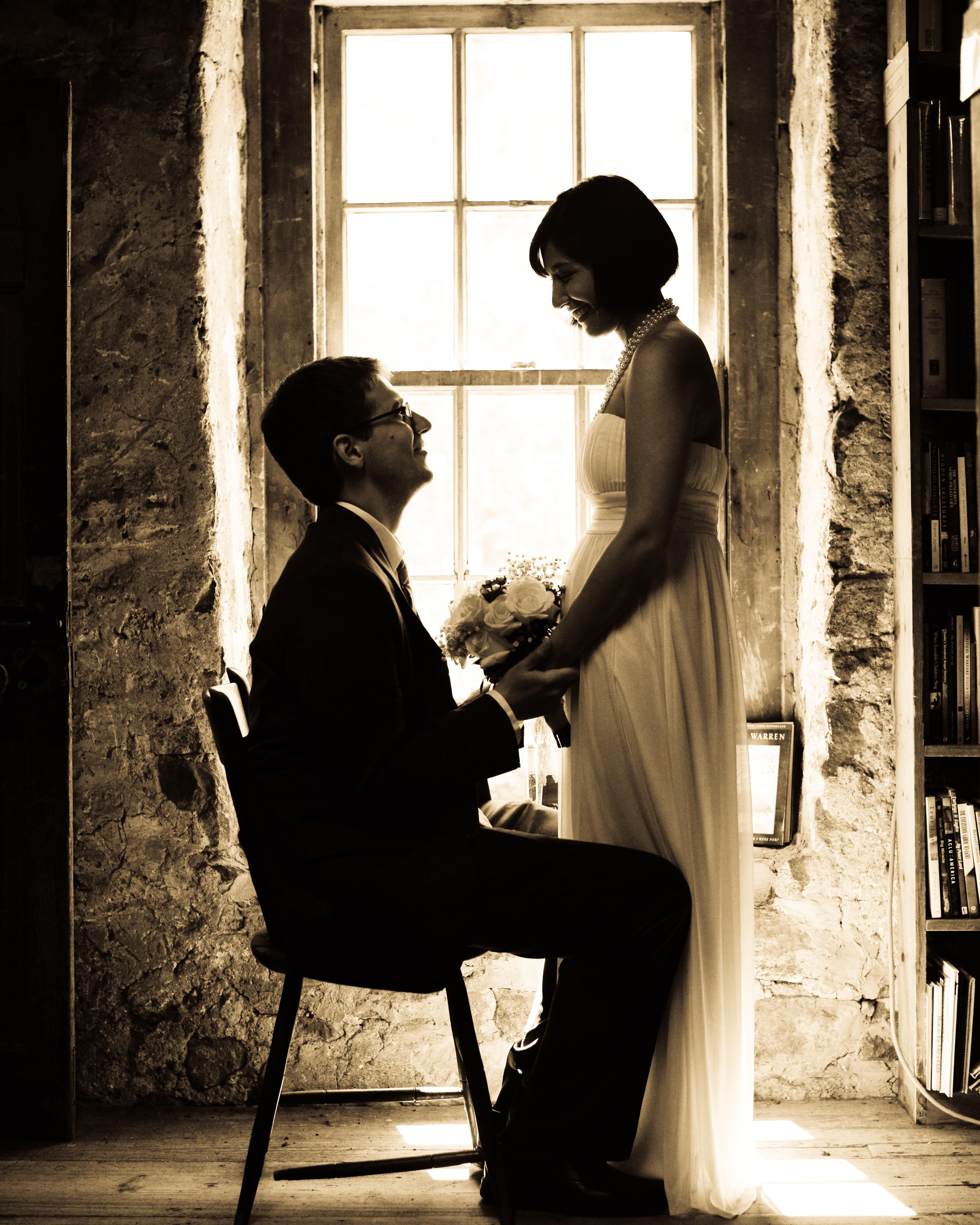 Great shot from a recent wedding at Baldwin's Book Barn in ...