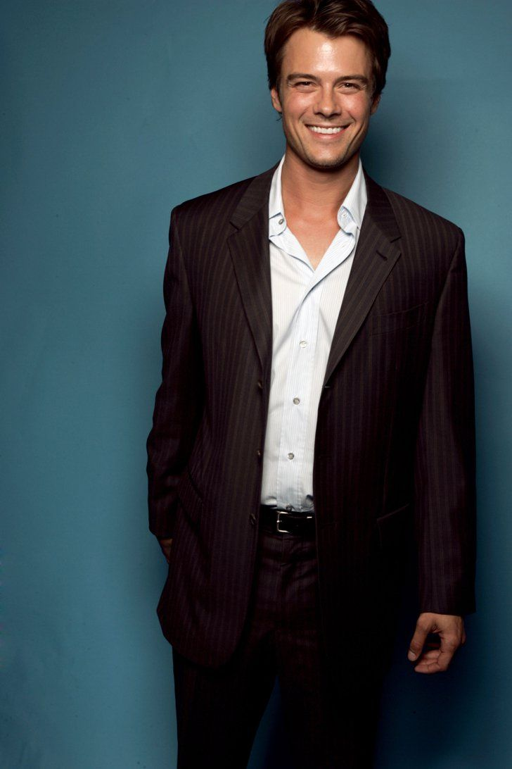 Pin for Later: 45 Really, Ridiculously Good-Looking Pictures of Josh Duhamel  In May 2004, Josh posed for a portrait after winning the award for young Hollywood superstar of tomorrow.