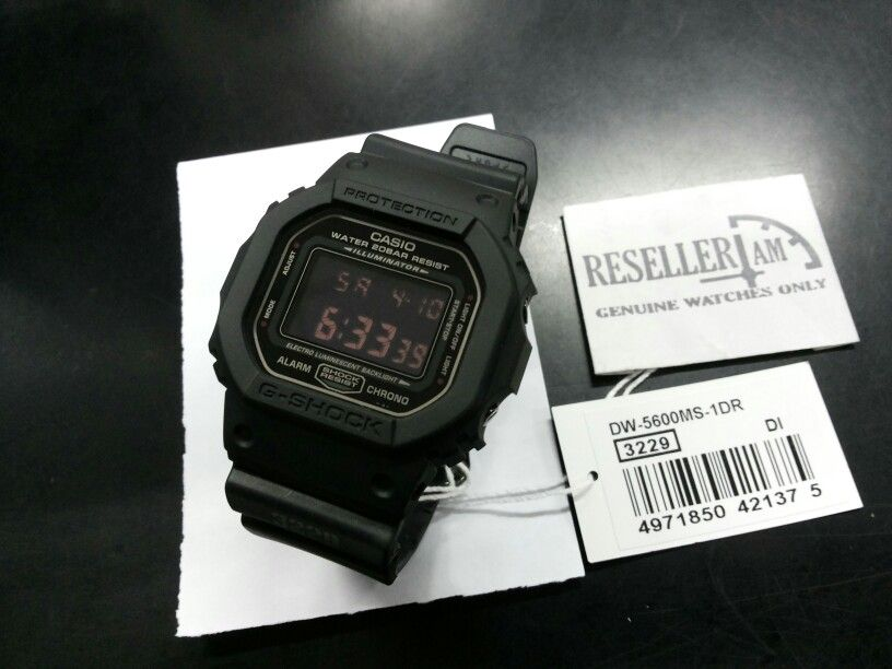 Casio G-shock DW-5600MS-1  fe41418590