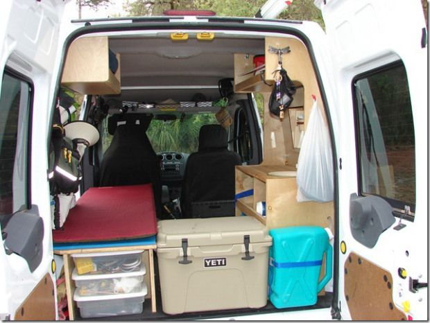 Movers And Makers Lynn Hanrahan Ford Transit Connect Camper