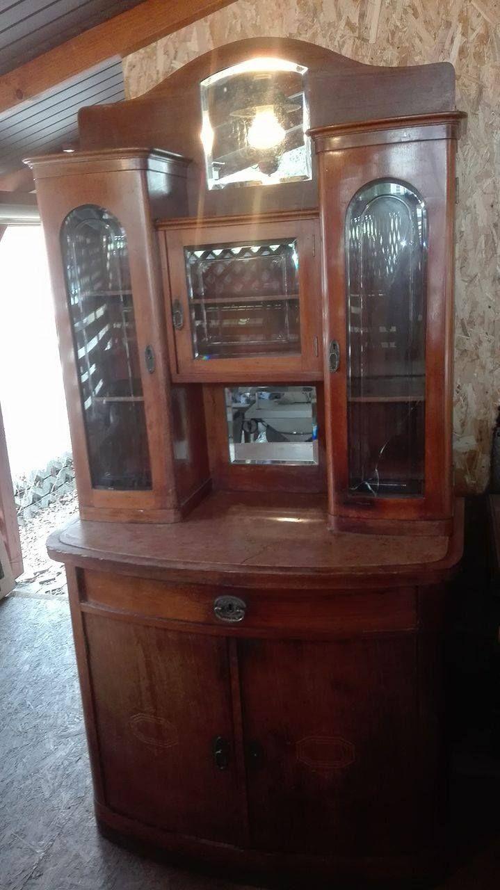Polski Stary Kredens Antyczny 6857303713 Oficjalne Archiwum Allegro Decor China Cabinet Home Decor