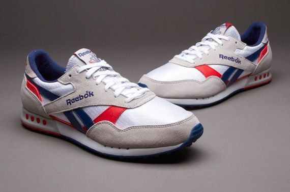 1c0c5759c1d Reebok ERS 1500 - Mens Select Footwear - White-Steel-Club Blue-Red Attack