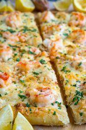 Shrimp Scampi Pizza Shrimp Scampi Pizza