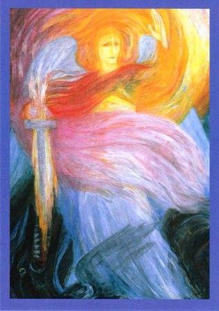 Amselhof Kunstdrucke margarita woloschina archangel michael