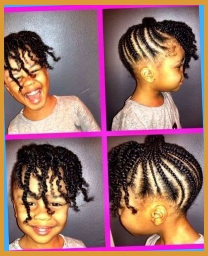 African Princess Little Black Girl Natural Hair Styles On