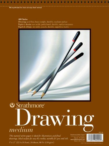 Strathmore Artist Papers 400 Series Drawing Paper Roll 42 X 10