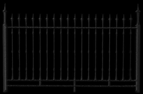 Transparent Black Iron Fence Png Clipart Iron Fence Fence Rod Iron Fences