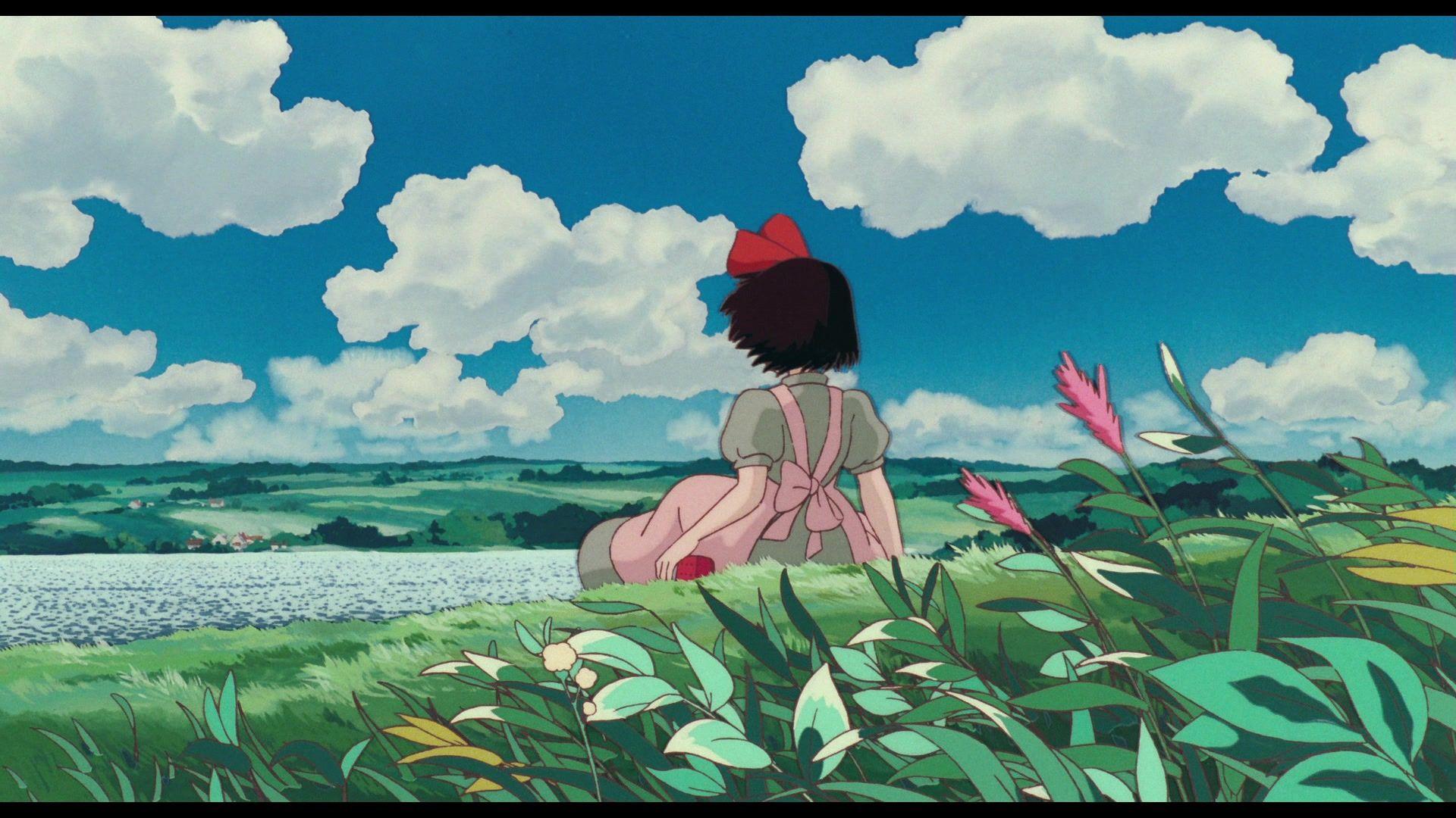 Vertical Pan Shots Of Studio Ghibli S Pom Poko Dir Isao Takahata 1994 Studio Ghibli Ghibli Artwork Anime Scenery