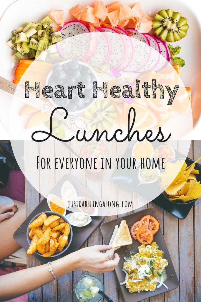 Heart Healthy Lunch Ideas For Everyone images