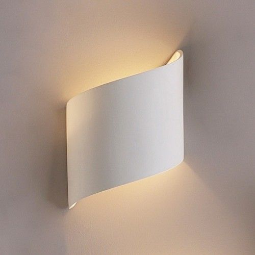 9 Quot Flowing Ribbon Wall Sconce Modern Or Contemporary