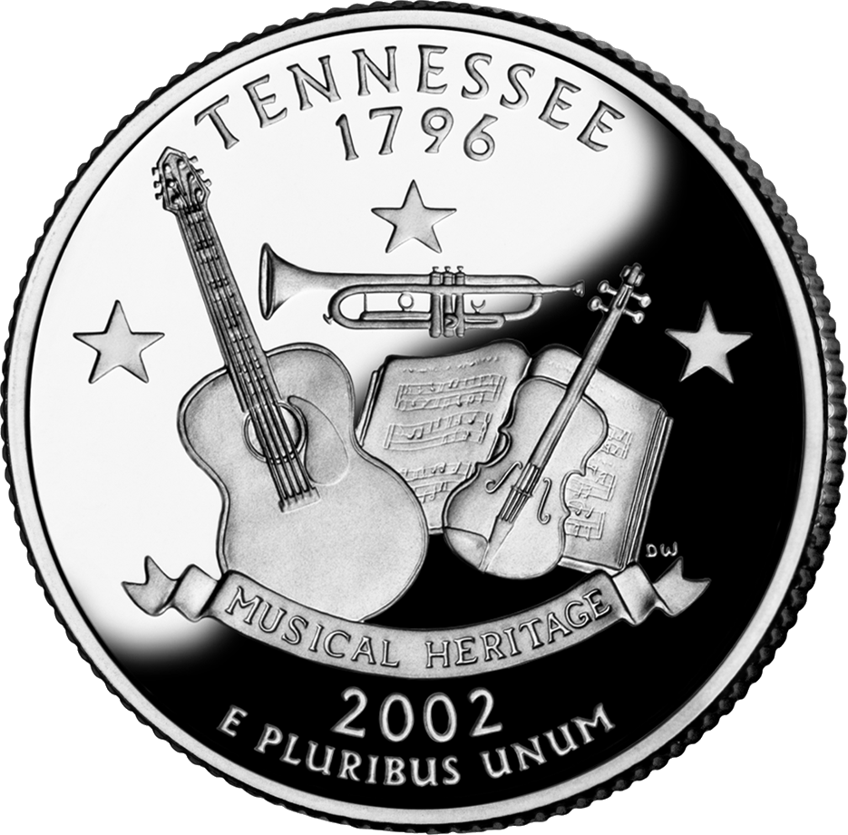 Tennessee Coin America The Beautiful Pinterest - Rare us state quarters
