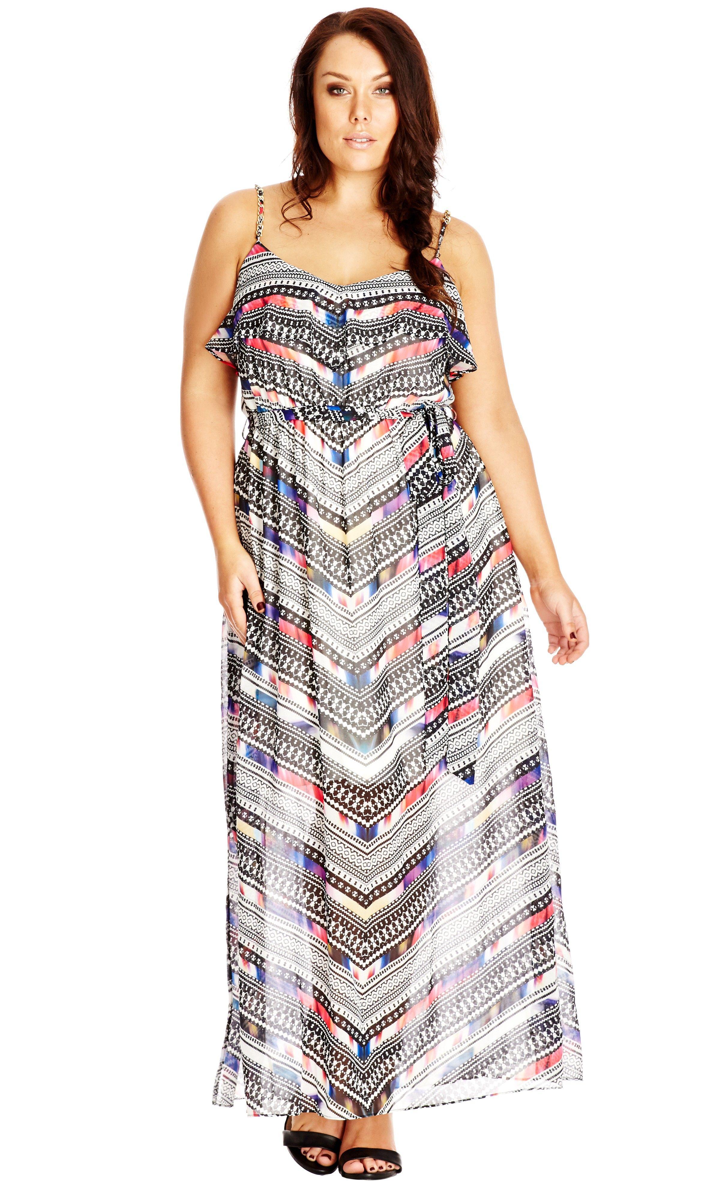 Moroccan dress plus size