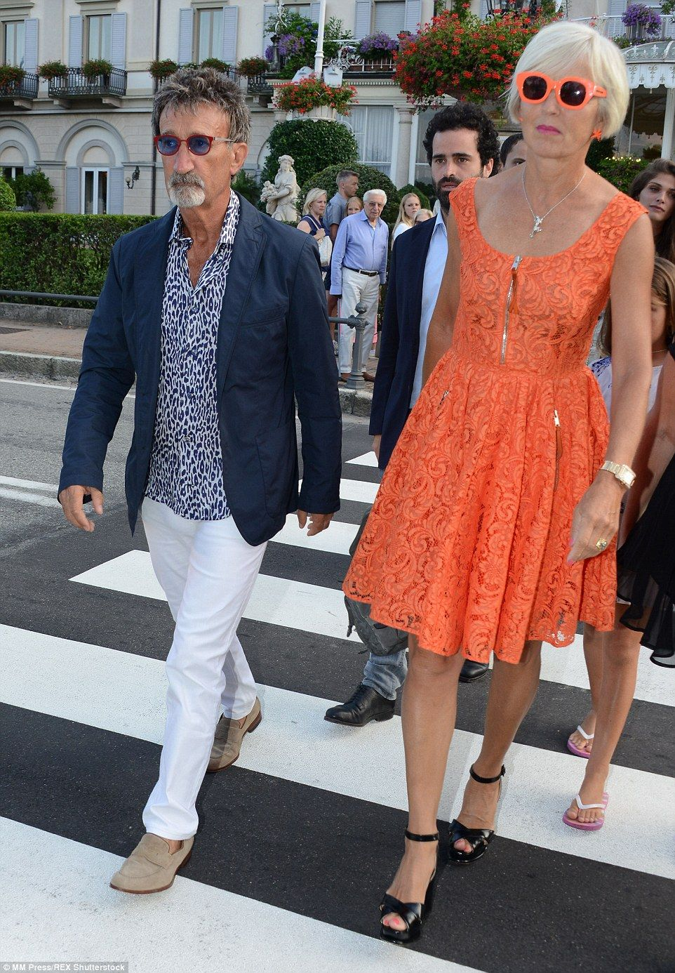 Beatrice Borromeo and Pierre Casiraghi arrive ahead of