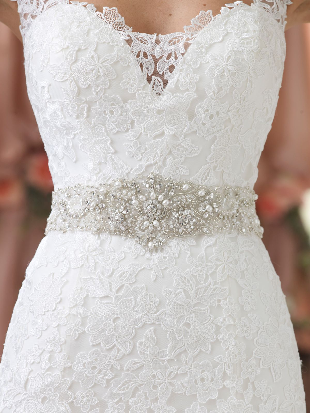 Wedding Dress Belts On Pinterest