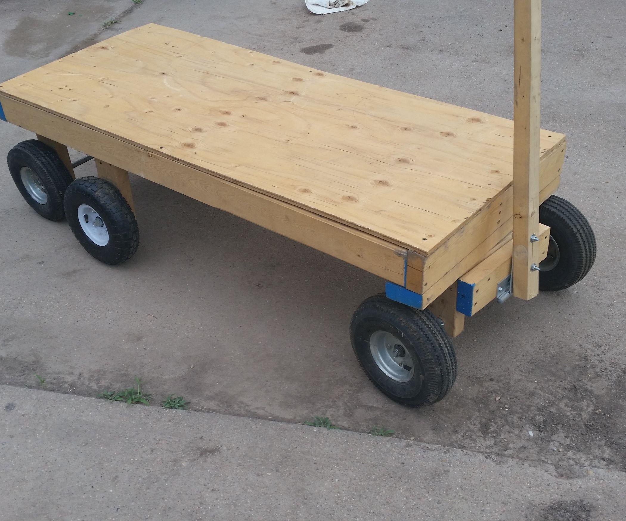 6 Wheel Garden Wagon Garden Wagon Wood Wagon Wagon Cart