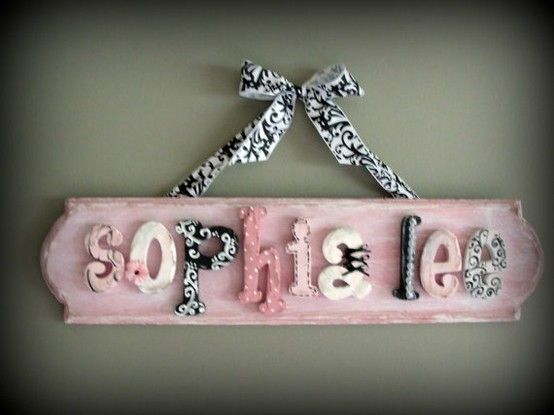 Best 25 Baby Name Signs Ideas On Pinterest Baby Room