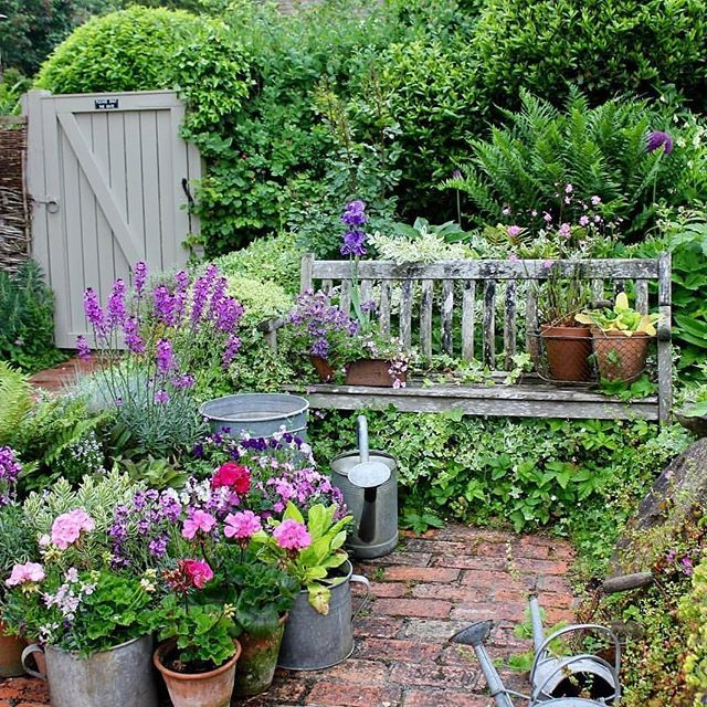 Cottage Garden Image By Rita Baller On Gardening