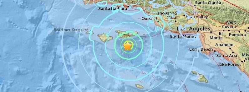 Shallow M5 3 Earthquake Shakes Los Angeles Area California Los Angeles Area Earthquake Los Angeles
