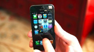 Pesky Problems Solved on the Cheap: Cracked iPhone Screen