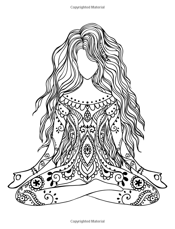Inner Peace - Adult Coloring Books: Beautiful Images Promoting ...