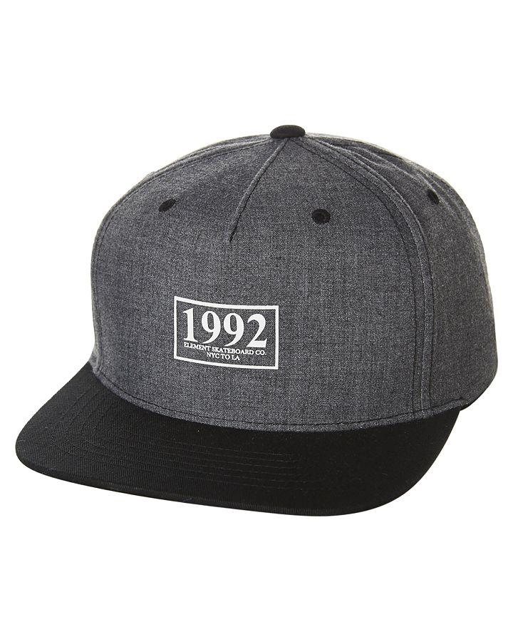 c3060757ed2 Caps Hats · Snapback · I know you want this! Element Hudson Snapback Cap  Black Cotton http