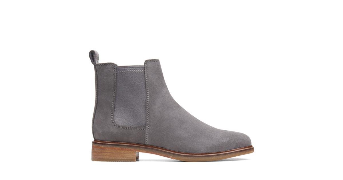 Clarkdale Arlo, women's Chelsea boots