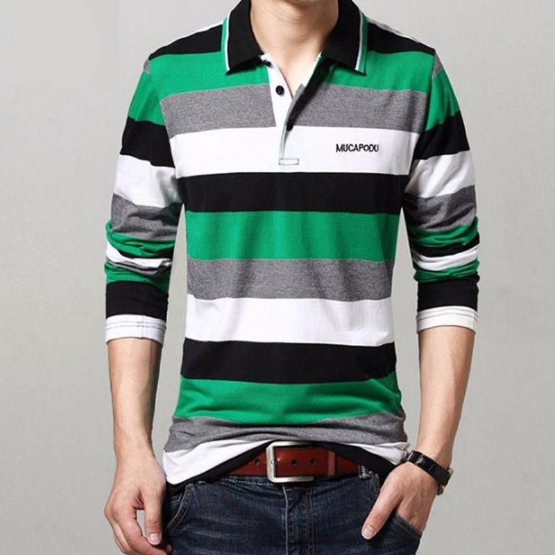 24b4eff75f Camisa Polo Manga Longa Billy