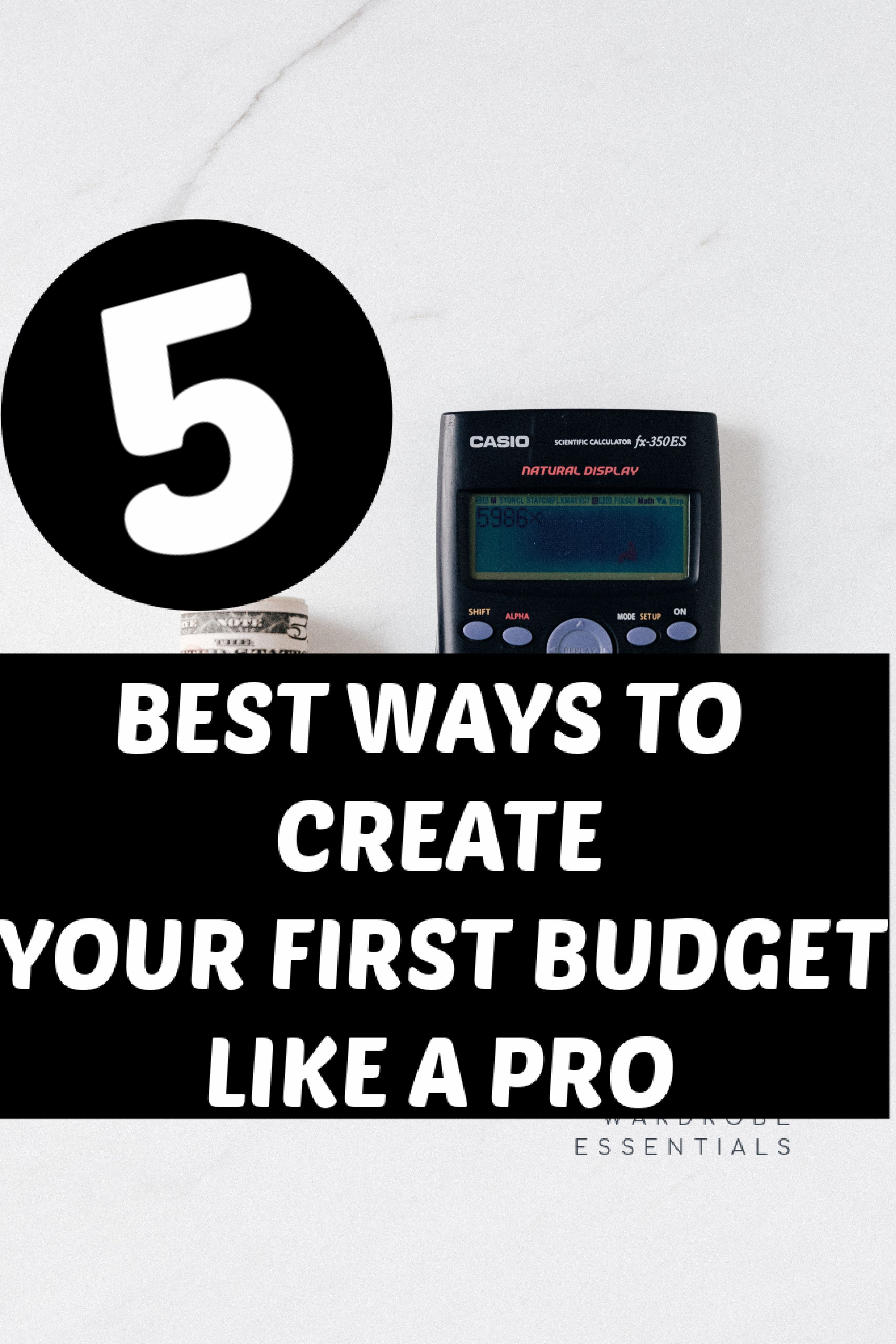 How To Create A Budget By Jordan Parker Personal Financial Planning Budgeting Personal Budget