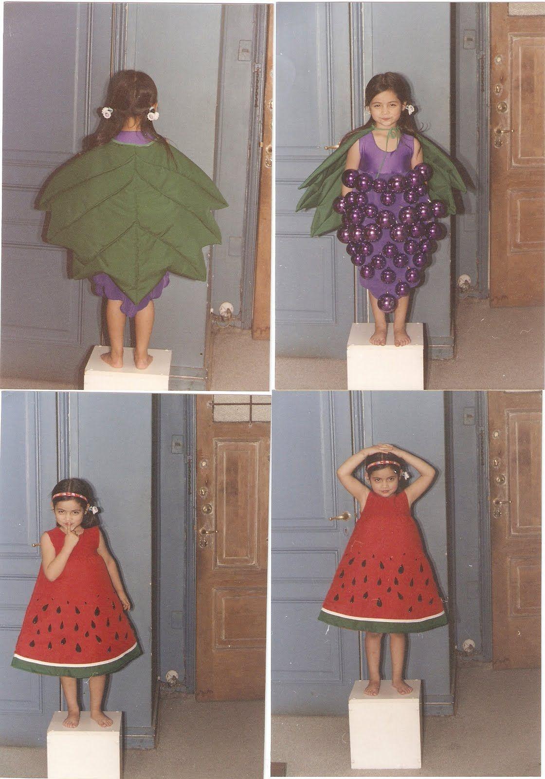 Disfraces Claudita Disfraces De Frutas Disfraz De Frutas