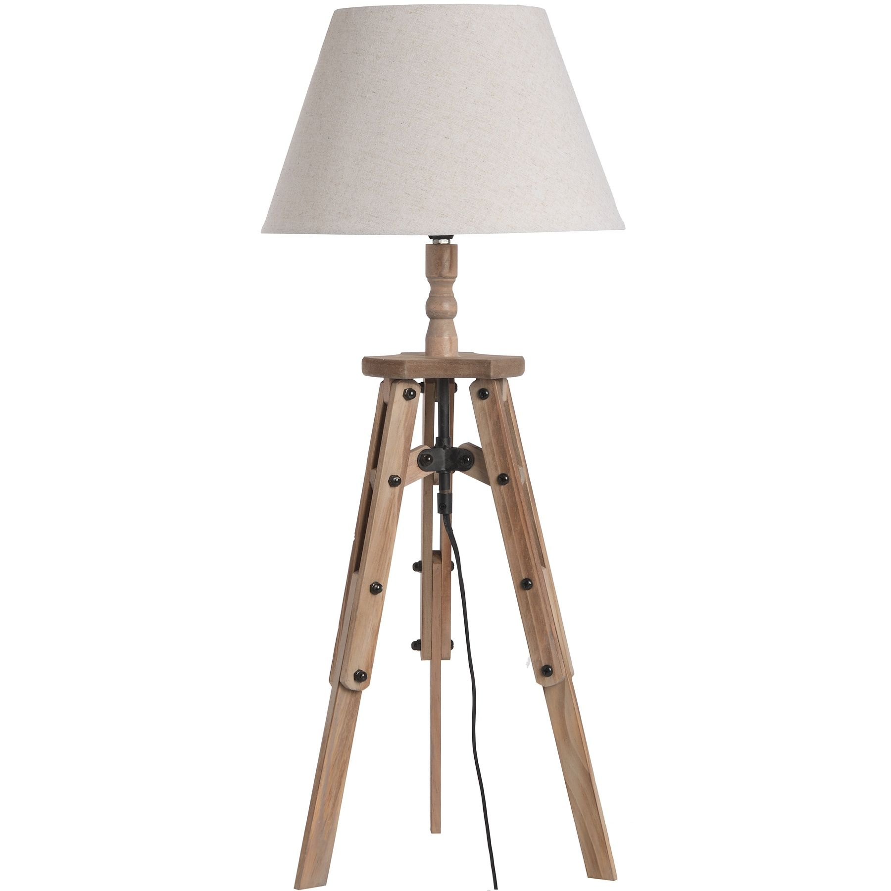 Wooden Tripod Table Lamp Wooden Table Lamps Tripod Table Lamp
